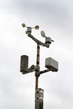 Home weather monitor. Stock Image