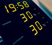 Home weather station Stock Images