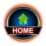 Home web icon Royalty Free Stock Photos