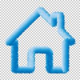 Home web icon vector web elements Eps10. stock illustration