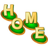 Home web logo Royalty Free Stock Images