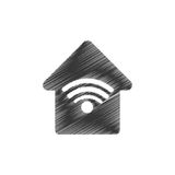 home web wifi connection Stock Photo
