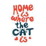 Home is where the cat Stock Photos