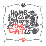 Home is where the cat Royalty Free Stock Photo