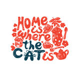 Home is where the cat Stock Photography