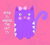 Home is where the cat is Stock Photos