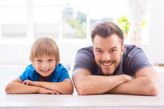 Home is where father is. Stock Photography