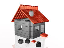 Home on white Royalty Free Stock Images