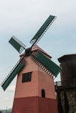 Home wind turbine in Rayon Thailand Royalty Free Stock Photography
