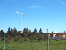 Home wind turbine 2 Stock Image
