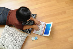 Home wireless internet Stock Images