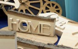 home wooden Στοκ Εικόνα