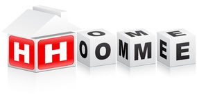 Home word Stock Photo