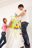 Home work Stock Image