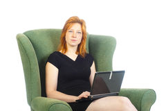 Home worker Stock Photo