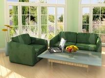 home working Royaltyfria Bilder