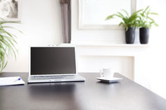 Home working set Royalty Free Stock Image