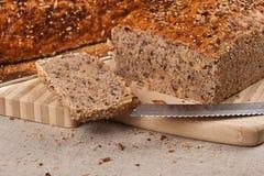 Homebaked bröd Arkivbilder