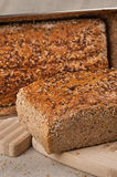 Homebaked bread Royalty Free Stock Images