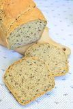 Homebaked bread with seeds Royalty Free Stock Image