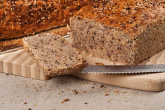 Homebaked Brot stockbilder