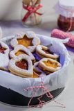 Homebaked Christmas Cookies stock photos