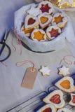 Homebaked Christmas Cookies stock image