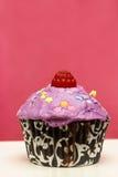 Homebaked Cupcake Royalty Free Stock Photography