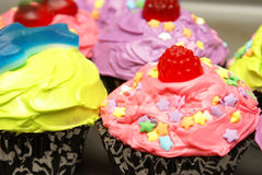 Homebaked Cupcakes Royalty Free Stock Photography