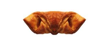Homebaked Ptysiowego ciasta pakuneczki zdjęcie stock