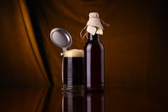 Homebrew beer Stock Photography