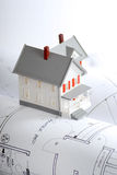 Homebuilding plans Stock Images