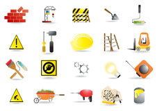 Homebuilding tools stock illustration