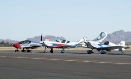 Homebuilt Aircraft 1. Experimental homebuilt aircraft on display at an airshow in Arizona Stock Photography