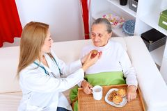 Homecare Royalty Free Stock Photo