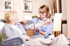 Homecare photographie stock