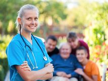 Homecare Stock Photo