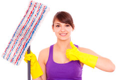 Homecleaning Royalty Free Stock Photography