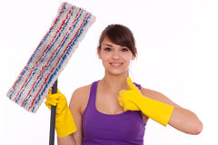 Homecleaning Stock Photography