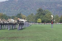 Homecoming Parade. West Point Military Academy, West Point, New York Stock Photos