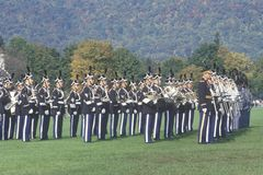 Homecoming Parade, West Point Military Academy, West Point, New York Royalty Free Stock Image