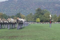 Homecoming Parade, West Point Military Academy, West Point, New York Stock Images