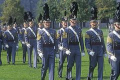 Homecoming Parade, West Point Military Academy, West Point, New York stock photography