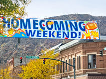 Homecoming Weekend Stock Image