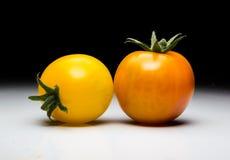 Homegrown κόκκινη φρέσκια ντομάτα στοκ φωτογραφίες