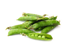 Homegrown peas Royalty Free Stock Images