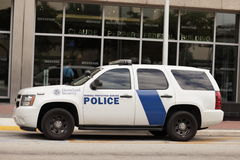Homeland security police vehicles Stock Photography