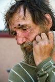 homeless нажатия Стоковые Фотографии RF