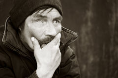 Homeless. Royalty Free Stock Image