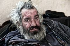 homeless photographie stock libre de droits